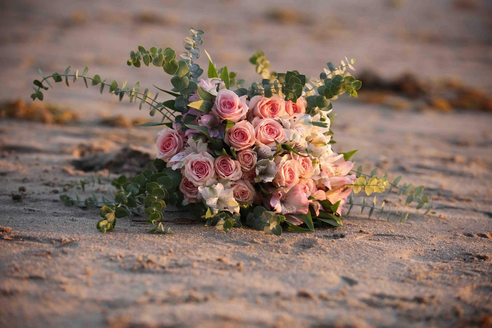 Hochzeitsblumenkranz