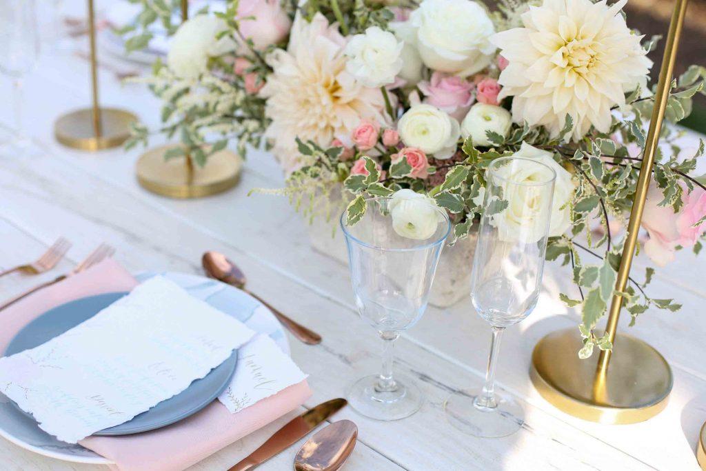 Hochzeitsdeko ist ein wichtiger Bestandteil von einer Hochzeitsdokumentation